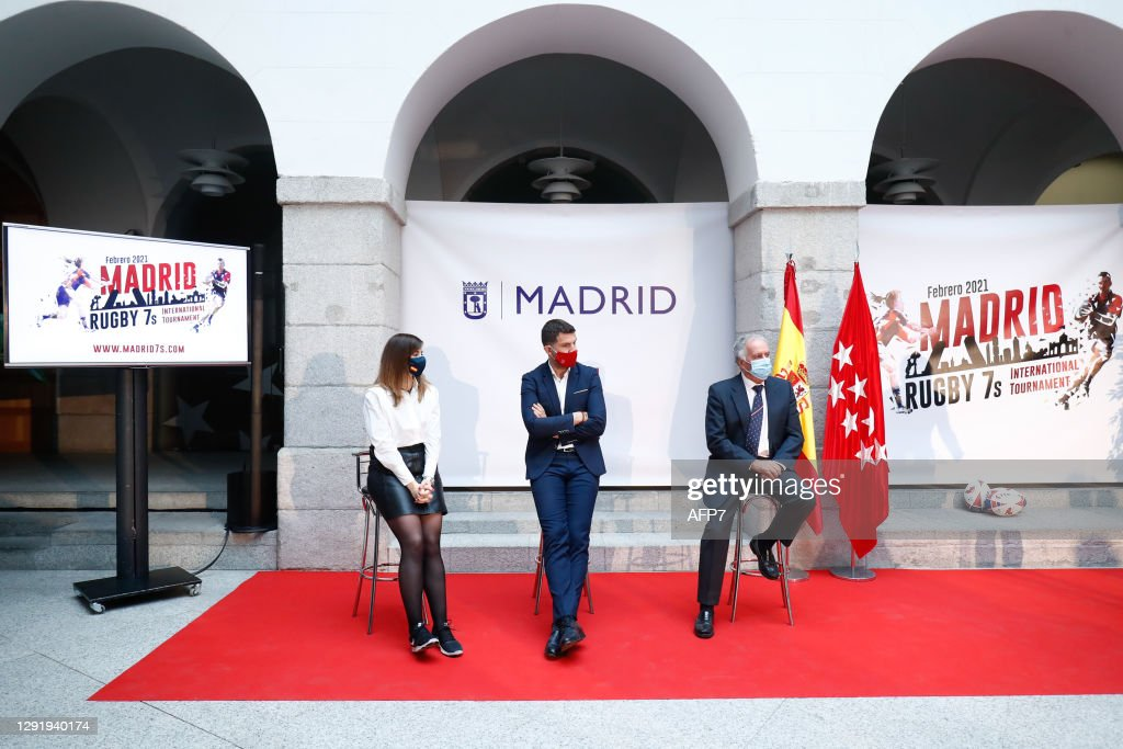 Rugby 7s International Tournament Presentated In Madrid : News Photo