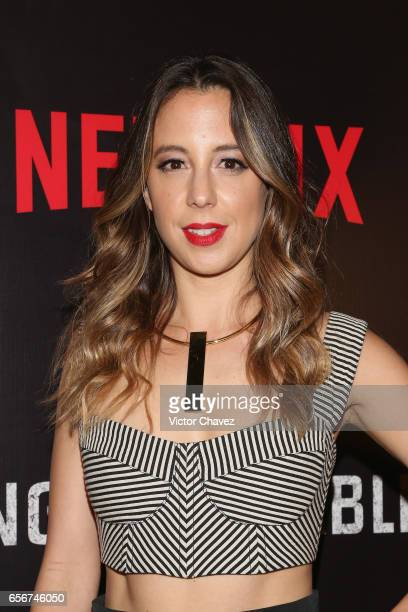 Sofia Nino De Rivera Attends The Launch Of Netflixs Series Ingobernable Red Carpet At