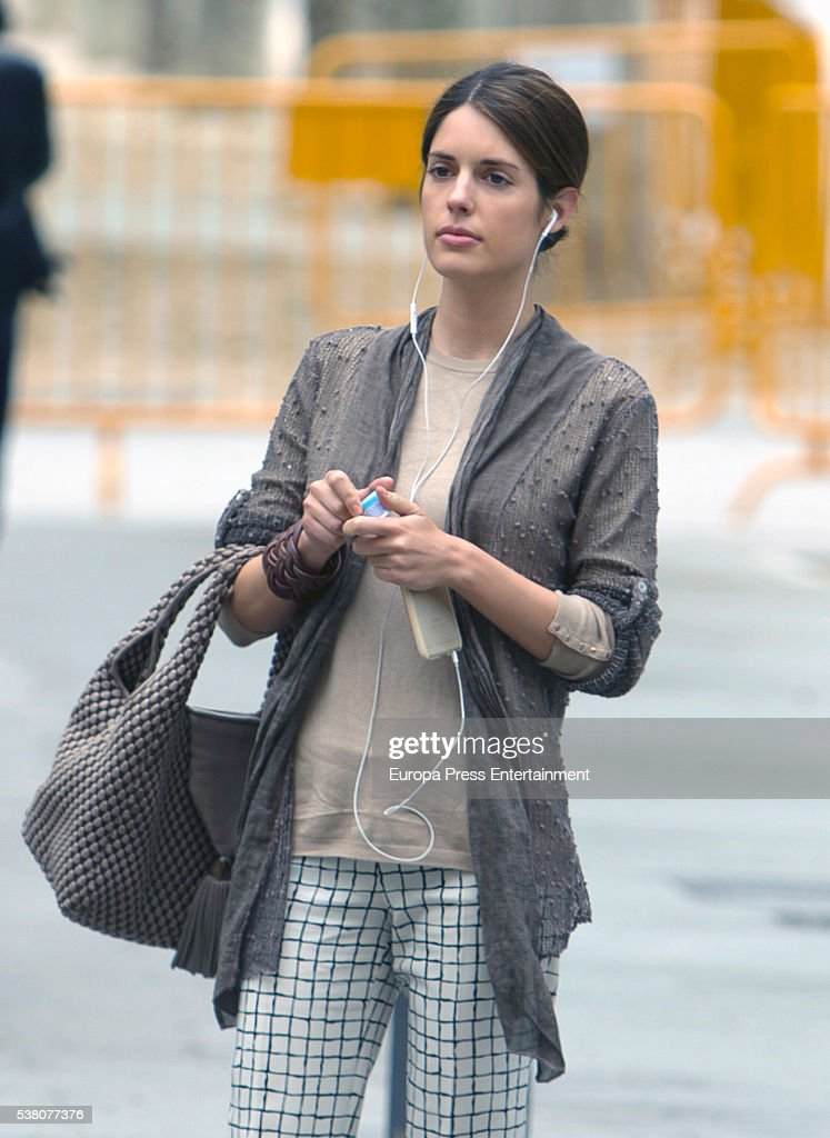 Celebrities Sighting In Madrid - May 13, 2016 : News Photo
