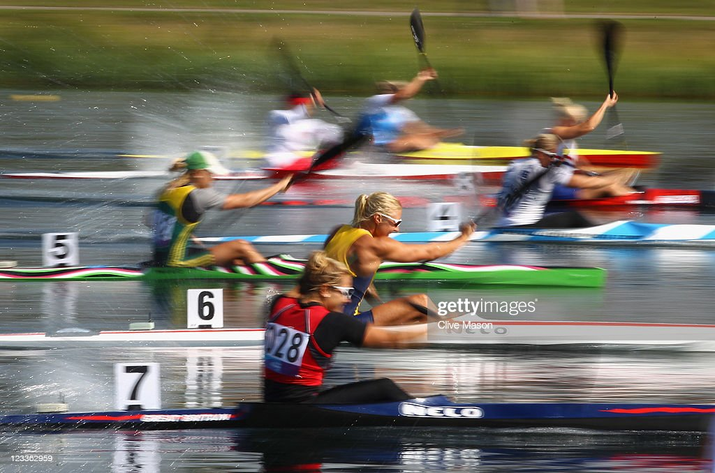 LOCOG Test Events for London 2012 - Canoe Sprint International Invitational: Day Two