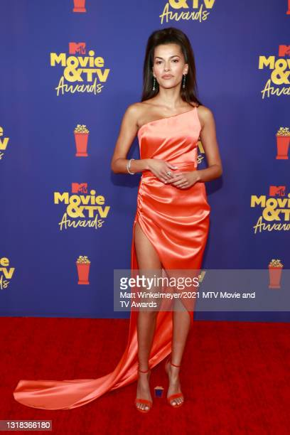 Sofia Pernas attends the 2021 MTV Movie & TV Awards at the Hollywood Palladium on May 16, 2021 in Los Angeles, California.