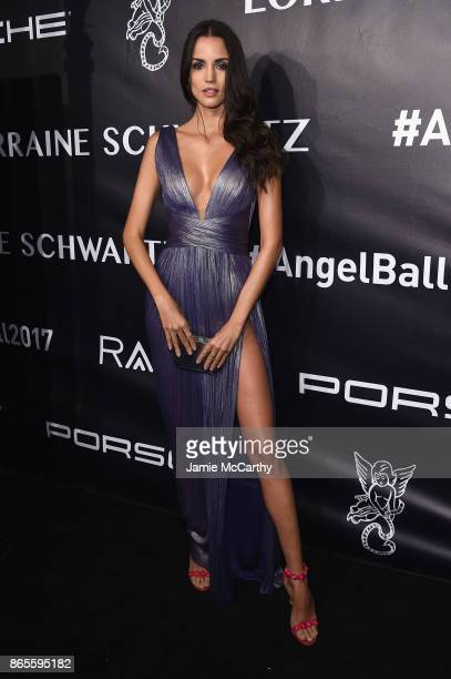 Sofia Resing arrives at Gabrielle's Angel Foundation's Angel Ball 2017 at Cipriani Wall Street on October 23 2017 in New York City