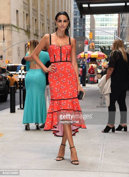 Sofia Resing arrives to the Daily Front Row's Fashion Media Awards at Four Seasons Hotel New York Downtown on September 8 2017 in New York City
