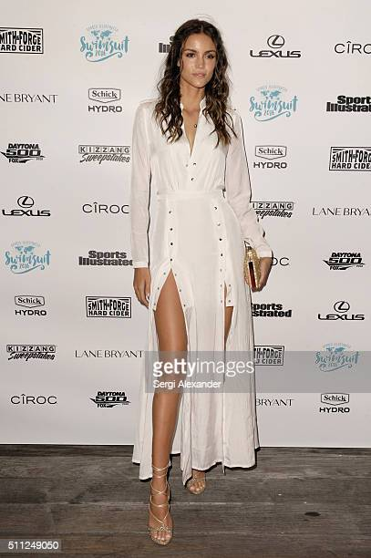 Sofia Resing attends A Night at Sea VIP Boat Cruise sponsored by Sports Illustrated Swimsuit 2016 Yacht Cruise on February 18 2016 in Miami City