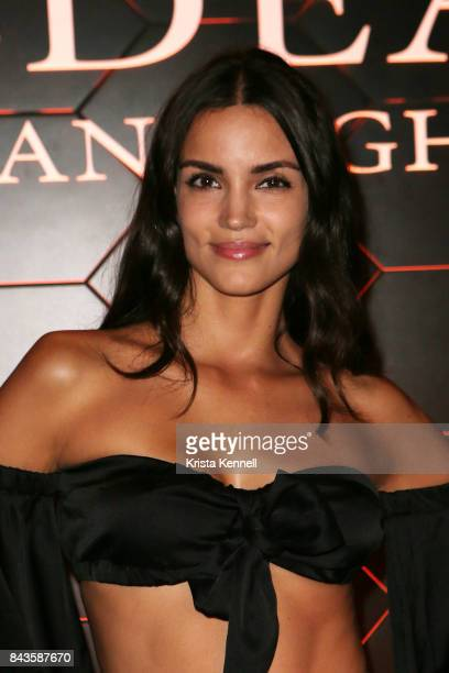Sofia Resing attends Bulgari 'Goldea The Roman Night' Fragrance Launch Party at The 1 Rooftop on September 6 2017 in the Brooklyn borough of New York...