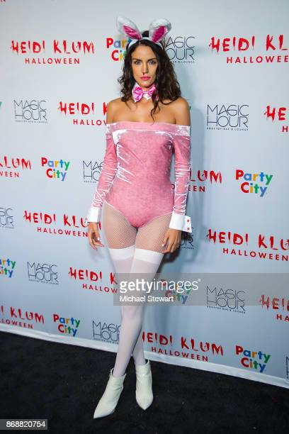 Sofia Resing attends Heidi Klum's 18th Annual Halloween Party at Magic Hour Rooftop Bar Lounge on October 31 2017 in New York City
