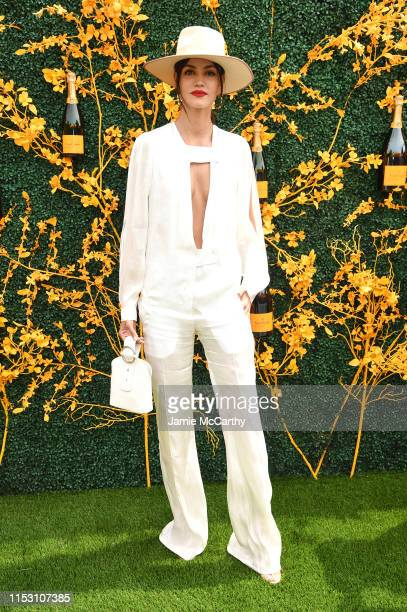 Sofia Resing attends the 12th Annual Veuve Clicquot Polo Classic at Liberty State Park on June 01, 2019 in Jersey City, New Jersey.