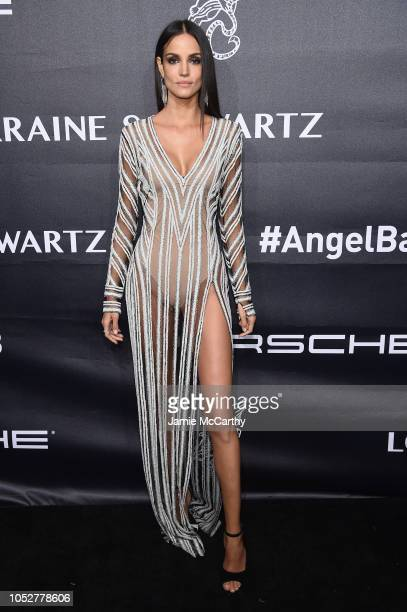Sofia Resing attends the 2018 Angel Ball hosted by Gabrielle's Angel Foundation at Cipriani Wall Street on October 22 2018 in New York City