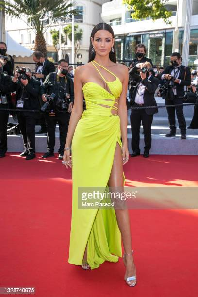 """Sofia Resing attends the """"A Felesegam Tortenete/The Story Of My Wife"""" screening during the 74th annual Cannes Film Festival on July 14, 2021 in..."""