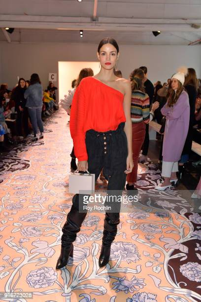 Sofia Resing attends the alice McCALL fashion show during New York Fashion Week The Shows at Industria Studios on February 10 2018 in New York City