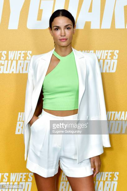 """Sofia Resing attends the """"Hitman's Wife's Bodyguard"""" special screening at Crosby Street Hotel on June 14, 2021 in New York City."""