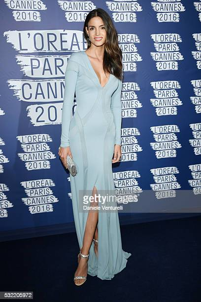 Sofia Resing attends the L'Oreal Party during the annual 69th Cannes Film Festival at on May 18 2016 in Cannes France