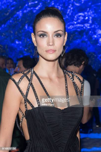 Sofia Resing attends the Philipp Plein fashion show during New York Fashion Week The Shows on February 10 2018 in New York City