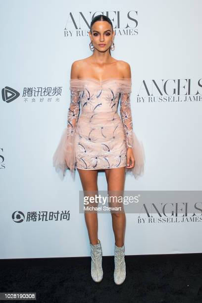 Sofia Resing attends the Russell James 'Angels' book launch & exhibit at Stephan Weiss Studio on September 6, 2018 in New York City.