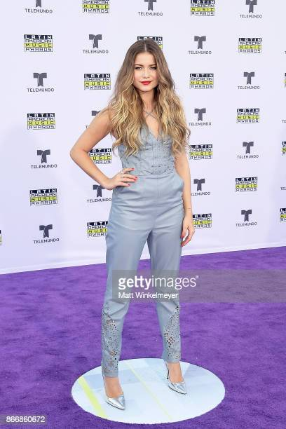 Sofia Reyes attends 2017 Latin American Music Awards at Dolby Theatre on October 26 2017 in Hollywood California