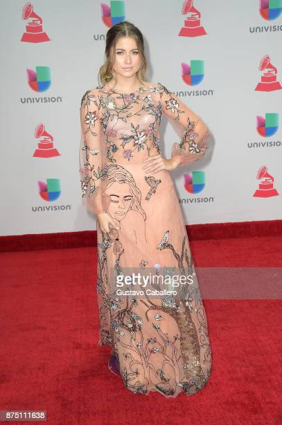Sofia Reyes attends the 18th Annual Latin Grammy Awards at MGM Grand Garden Arena on November 16 2017 in Las Vegas Nevada