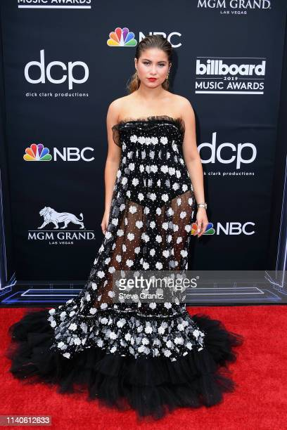 Sofia Reyes attends the 2019 Billboard Music Awards at MGM Grand Garden Arena on May 1 2019 in Las Vegas Nevada