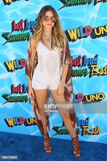Sofia Reyes attends the 4th Annual Just Jared Summer Bash on August 13 2016 in Los Angeles California