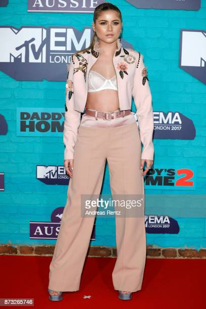 Sofia Reyes attends the MTV EMAs 2017 held at The SSE Arena Wembley on November 12 2017 in London England
