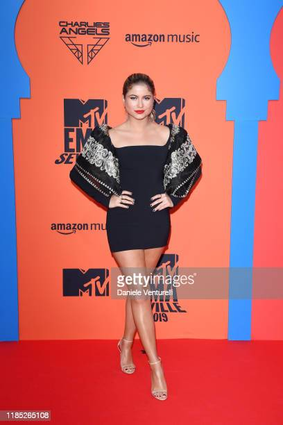 Sofia Reyes attends the MTV EMAs 2019 at FIBES Conference and Exhibition Centre on November 03 2019 in Seville Spain