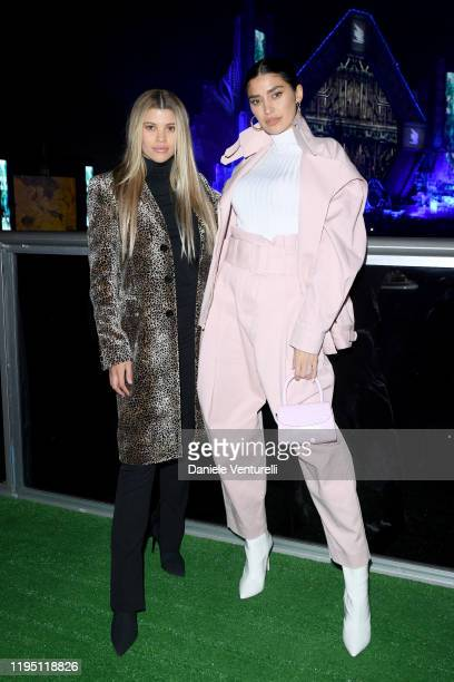 Sofia Richie and Nicole Williams attend the MDL Beast Festival on December 20 2019 in Riyadh Saudi Arabia
