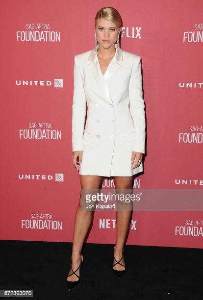 Sofia Richie arrives at SAGAFTRA Foundation Patron of the Artists Awards 2017 on November 9 2017 in Beverly Hills California