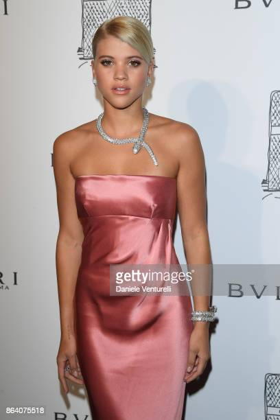 Sofia Richie attends a party to celebrate the Bvlgari Flagship Store Reopening on October 20 2017 in New York City