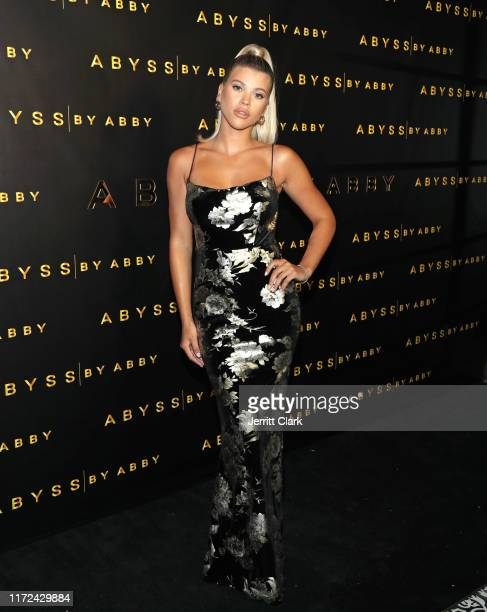 Sofia Richie attends Abyss By Abby Launch at Beauty & Essex on September 04, 2019 in Los Angeles, California.