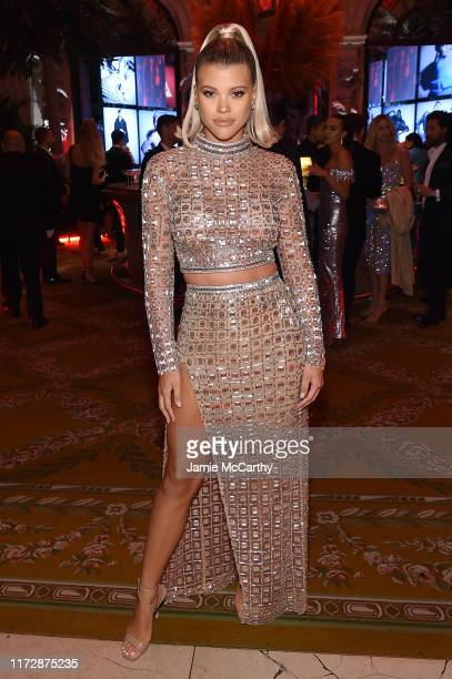 """Sofia Richie attends as Harper's BAZAAR celebrates """"ICONS By Carine Roitfeld"""" at The Plaza Hotel presented by Cartier - Inside on September 06, 2019..."""