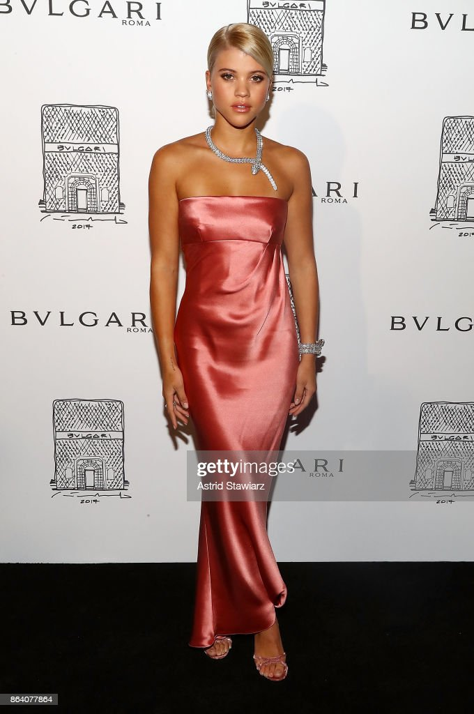 7e9a382f83d Sofia Richie attends Bulgari 5th Avenue flagship store opening on ...