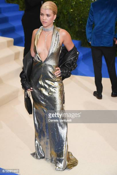 Sofia Richie attends 'Rei Kawakubo/Comme des Garcons Art Of The InBetween' Costume Institute Gala Arrivals at Metropolitan Museum of Art on May 1...