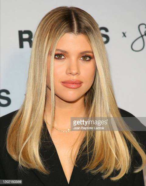 Sofia Richie attends Rolla's x Sofia Richie Collection Launch Event at 1 Hotel West Hollywood on February 20 2020 in Los Angeles California