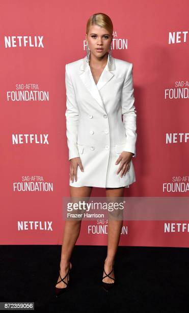 Sofia Richie attends SAGAFTRA Foundation Patron of the Artists Awards at the Wallis Annenberg Center for the Performing Arts 2017 on November 9 2017...