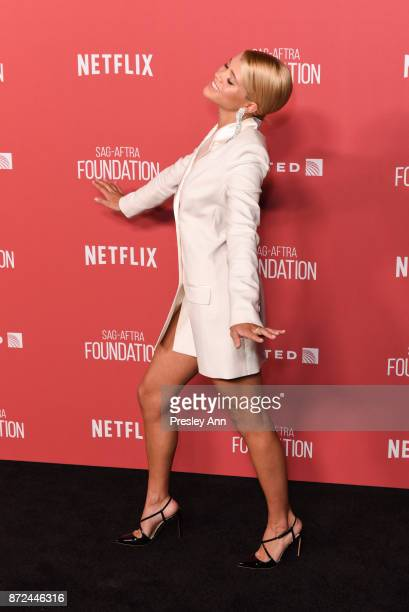 Sofia Richie attends SAGAFTRA Foundation Patron of the Artists Awards 2017 Arrivals at Wallis Annenberg Center for the Performing Arts on November 9...