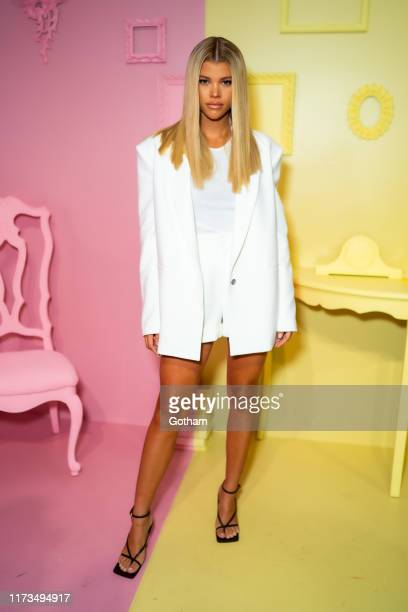 Sofia Richie attends the Alice Olivia by Stacey Bendet presentation during New York Fashion Week The Shows at Root Studio on September 09 2019 in New...