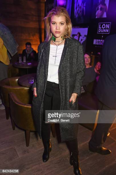 Sofia Richie attends the Lon Dunn Missguided launch event hosted by Jourdan Dunn at The London EDITION on February 17 2017 in London England