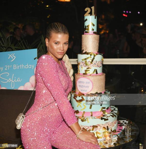 Sofia Richie celebrates her 21st birthday at XS Nightclub at Wynn Las Vegas on August 24, 2019 in Las Vegas, Nevada.