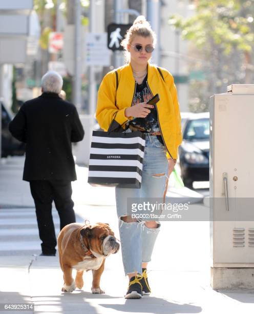 Sofia Richie is seen on February 22 2017 in Los Angeles California