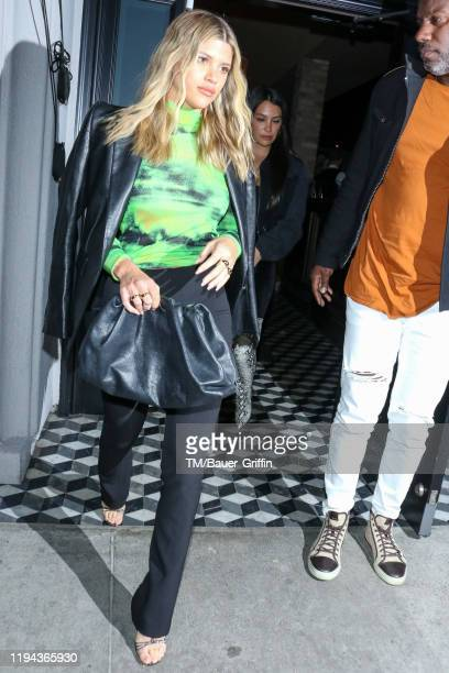 Sofia Richie is seen on January 17 2020 in Los Angeles California