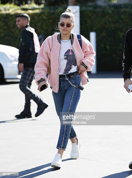 Sofia Richie is seen on January 27 2017 in Los Angeles California
