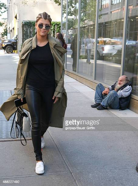 Sofia Richie is seen on September 14 2015 in New York City