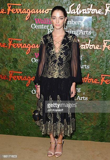 Sofia Sanchez Barrenechea arrives at the Wallis Annenberg Center For Performing Arts Inaugural Gala at Wallis Annenberg Center for the Performing...