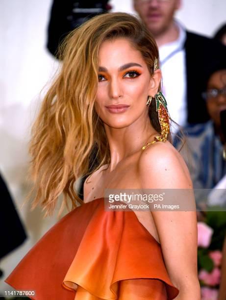 Sofia Sanchez Barrenechea attending the Metropolitan Museum of Art Costume Institute Benefit Gala 2019 in New York USA