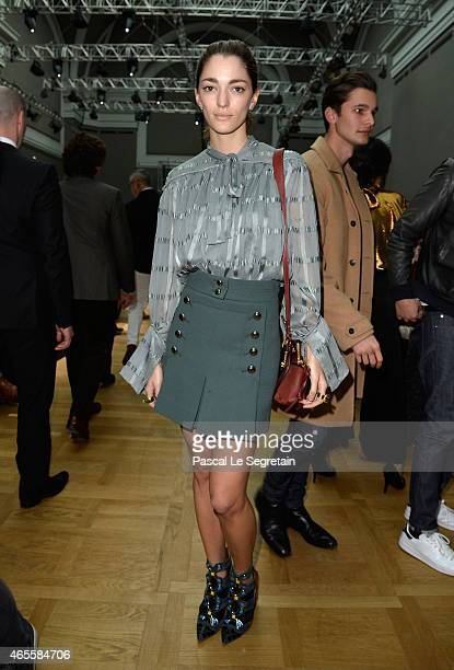 Sofia Sanchez Barrenechea attends the Chloe show as part of the Paris Fashion Week Womenswear Fall/Winter 2015/2016 on March 8 2015 in Paris France