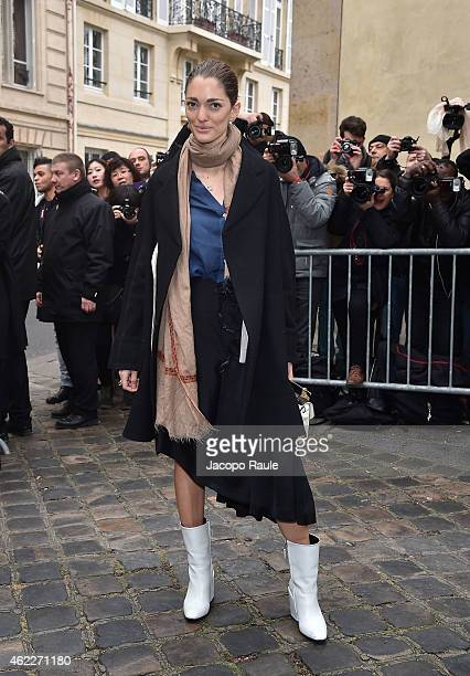 Sofia Sanchez Barrenechea attends the Dior show as part of Paris Fashion Week Haute Couture Spring/Summer 2015 on January 26 2015 in Paris France