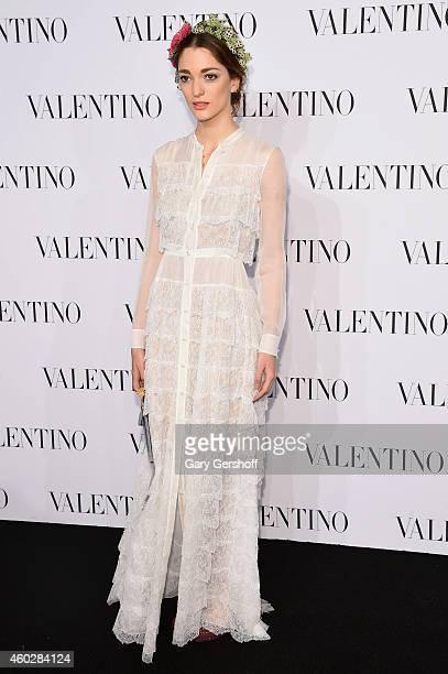 Sofia Sanchez Barrenechea attends the Valentino Sala Bianca 945 Event on December 10 2014 in New York City