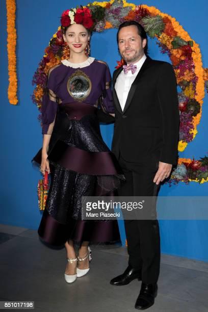Sofia Sanchez de Betak and Alexandre de Betak attend the Opening Season gala at Opera Garnier on September 21 2017 in Paris France