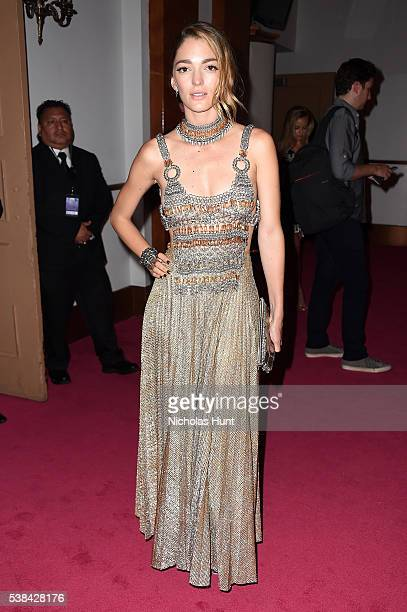 Sofia Sanchez de Betak attends the 2016 CFDA Fashion Awards at the Hammerstein Ballroom on June 6, 2016 in New York City.