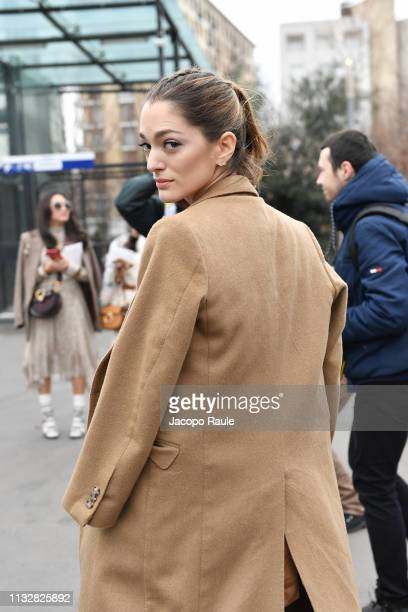 Sofia Sanchez de Betak attends the Chloe show as part of the Paris Fashion Week Womenswear Fall/Winter 2019/2020 on February 28 2019 in Paris France