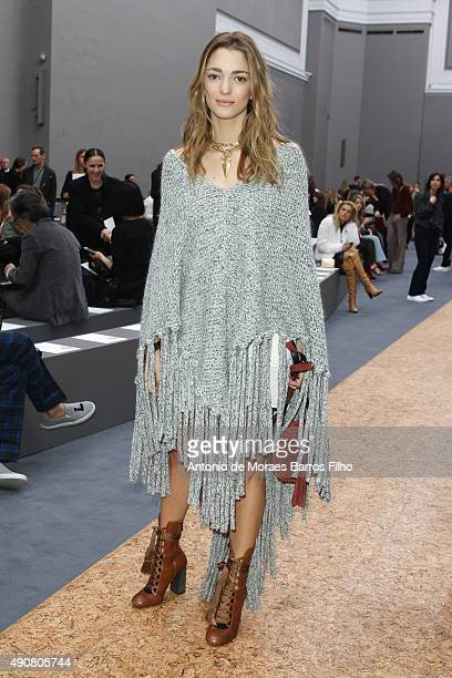 Sofia Sanchez de Betak attends the Chloe show as part of the Paris Fashion Week Womenswear Spring/Summer 2016 on October 1 2015 in Paris France